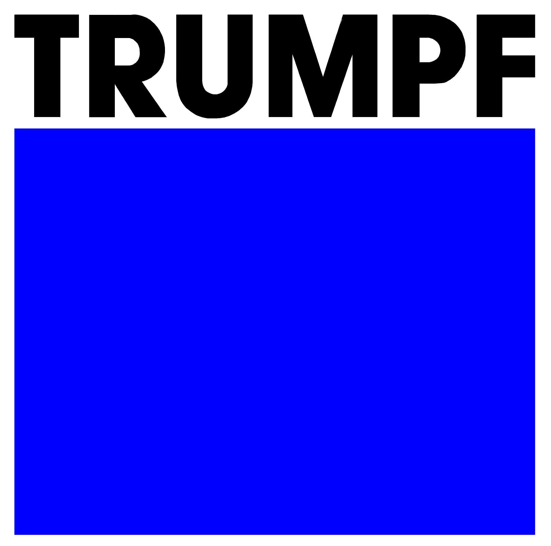 Logo_TRUMPF_blau_weiss